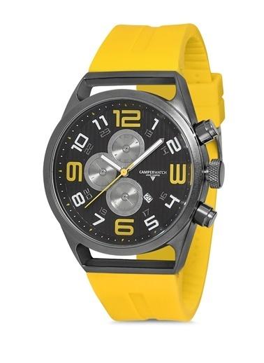Camper Watch Saat Sarı